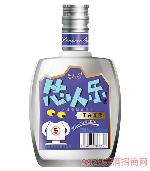 怂人乐酒41度500ml