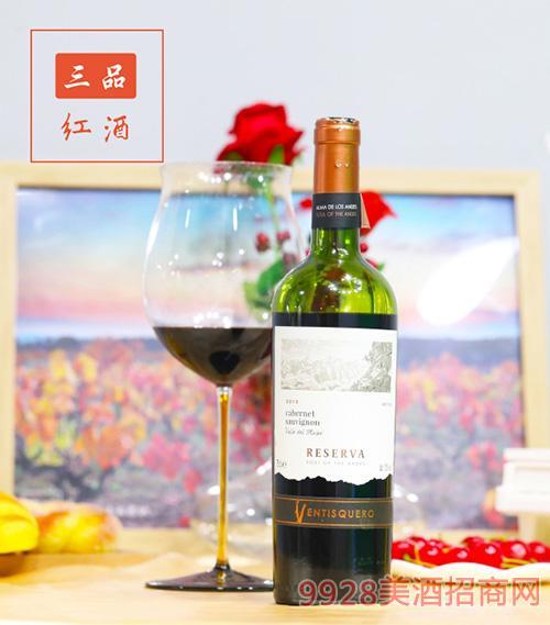 冰川酒庄珍藏赤霞珠红葡萄酒