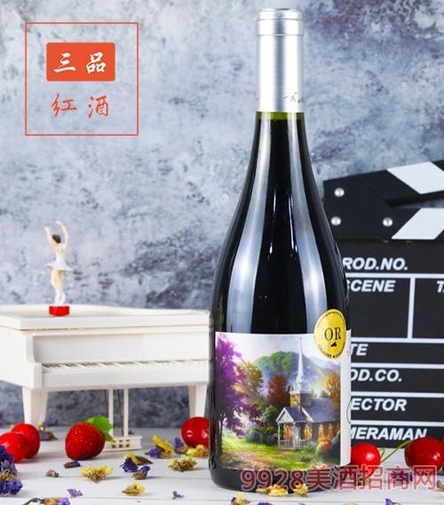 智利莫莱河谷赤霞珠红葡萄酒