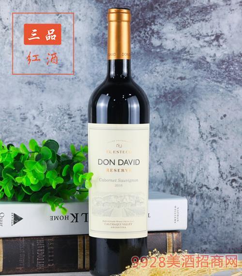 唐大卫赤霞珠红葡萄酒