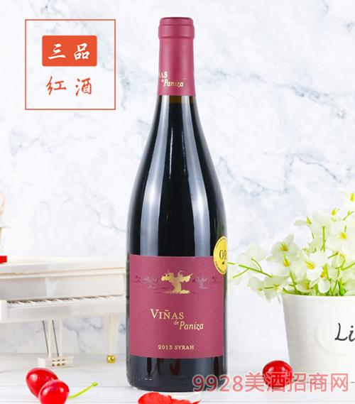 帕尼萨酒庄老藤西拉干红葡萄酒