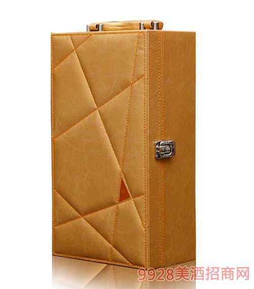 宝泉菲红山楂酒金色礼盒