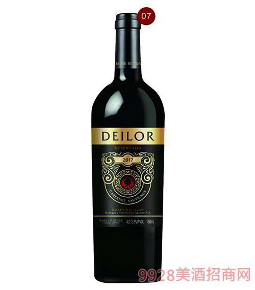 智利蒂罗尔红葡萄酒13.5度750ml