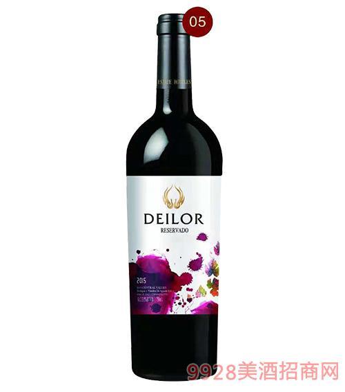 智利蒂罗尔印象红葡萄酒13.5度750ml
