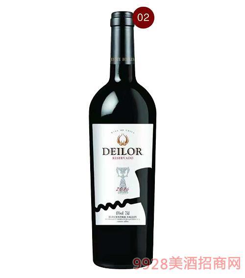 智利蒂罗尔圣女红葡萄酒13度750ml
