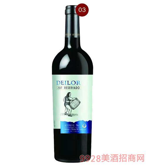 智利蒂罗尔收获者红葡萄酒13.5度750ml