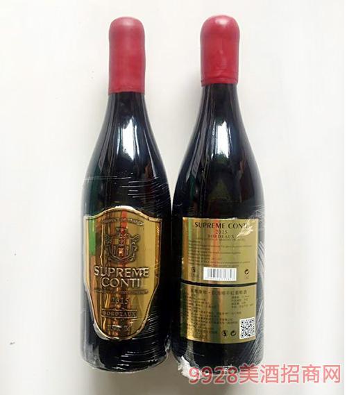 至尊康帝佳美娜干红葡萄酒750ml