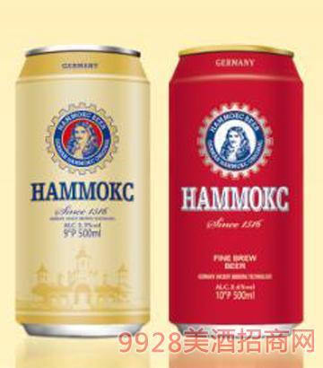 德国汉姆精酿啤酒罐装