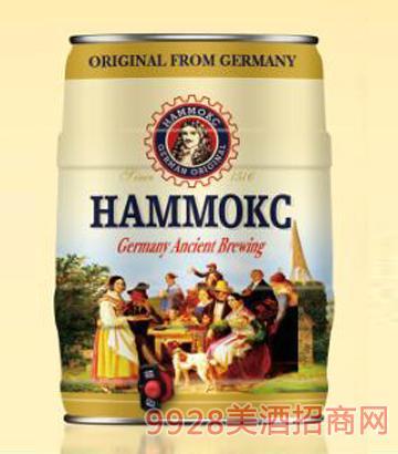 德国汉姆白啤酒桶装