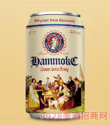 德国汉姆蕾顿全麦精酿白啤酒330ml