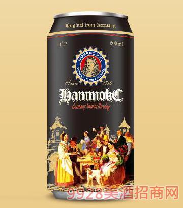 德国汉姆蕾顿全麦精酿黑啤酒500ml