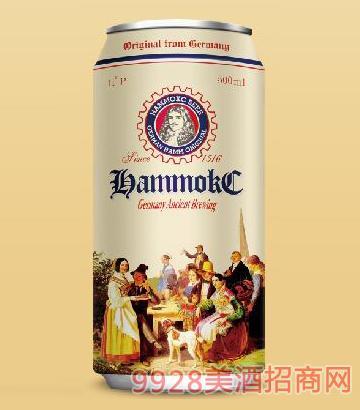 德国汉姆蕾顿全麦精酿白啤酒500ml
