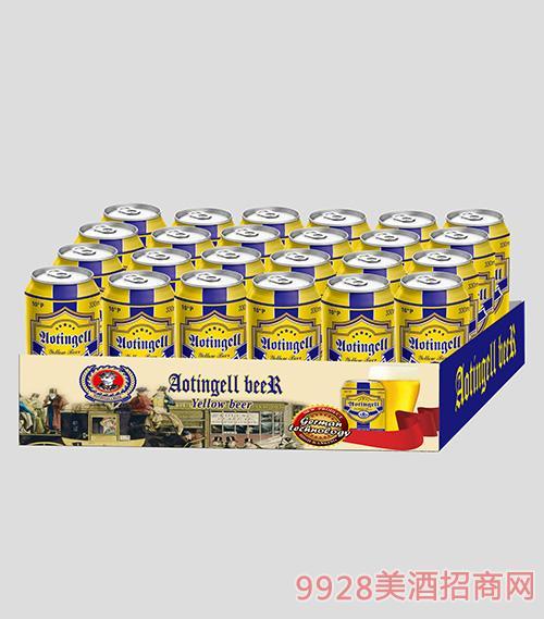澳丁格尔啤酒黄啤
