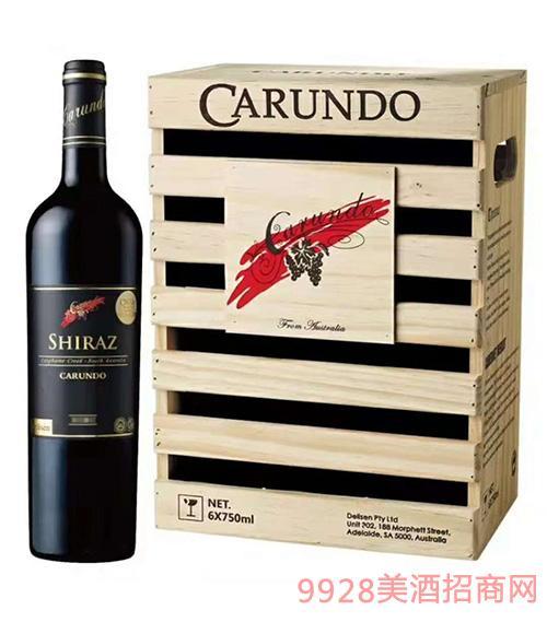 澳洲嘉伦多红酒木箱装