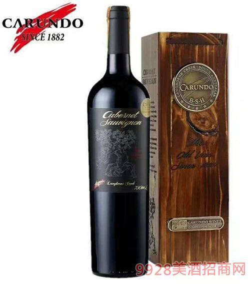 百年老树赤霞珠干红葡萄酒