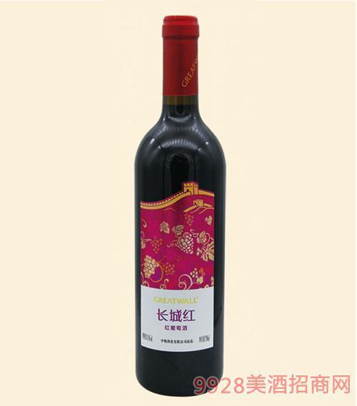 长城红红葡萄酒750ml