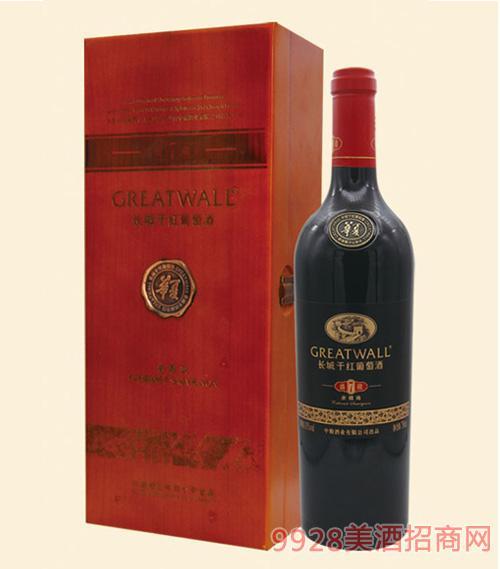 长城盛藏7赤霞珠干红葡萄酒盒装