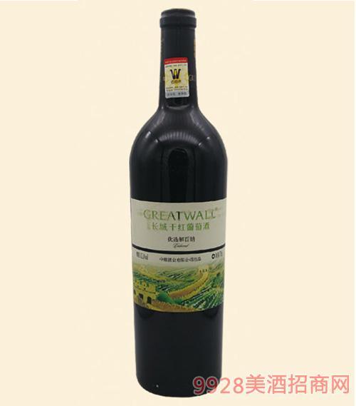 优选解百纳干红葡萄酒750ml