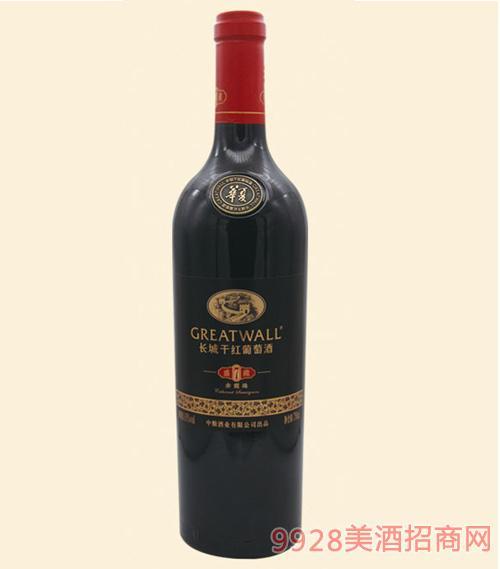 长城盛藏7赤霞珠干红葡萄酒750ml