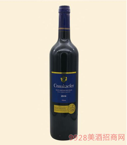 凯富干红葡萄酒750ml蓝牌