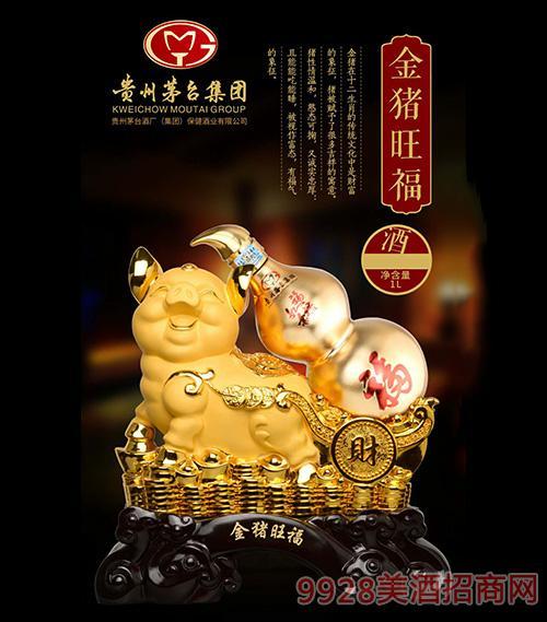金猪旺财酒750ml
