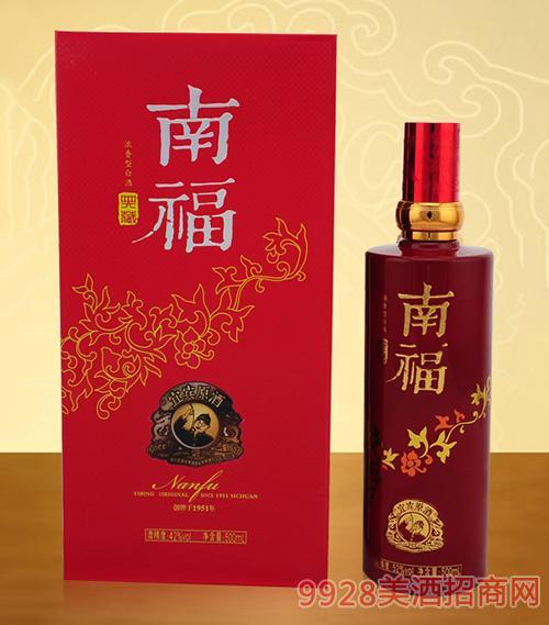 南福浓香型白酒42度500ml