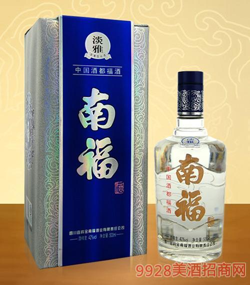 淡雅南福酒42度500ml浓香型白酒
