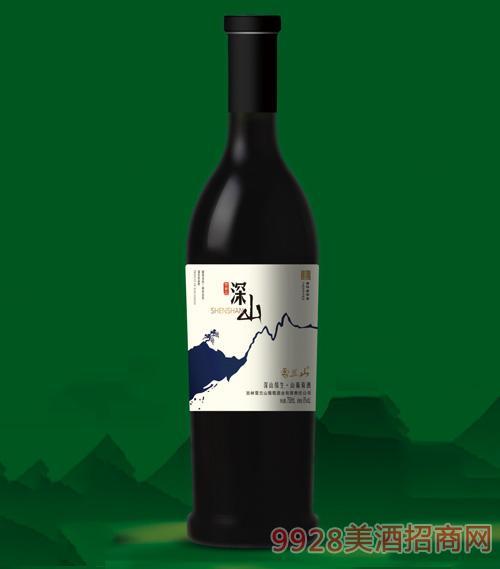雪兰山·深山缘山葡萄酒8度750ml