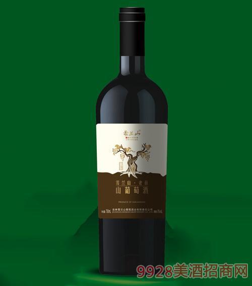 雪兰山老藤山葡萄酒8度750ml