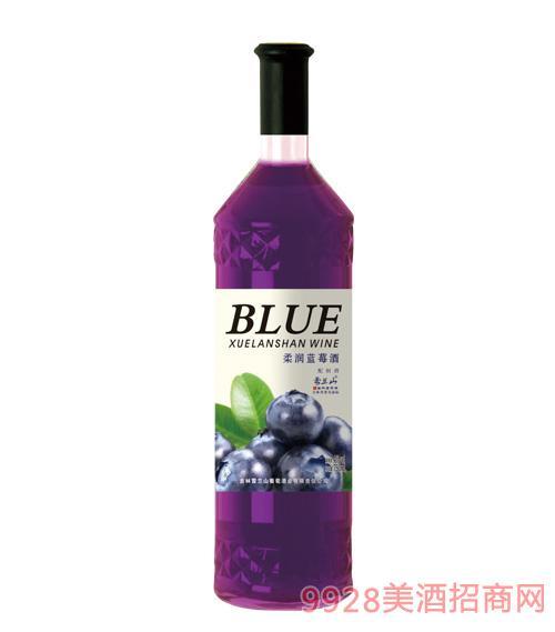 雪蘭山·柔潤藍莓酒4度750ml