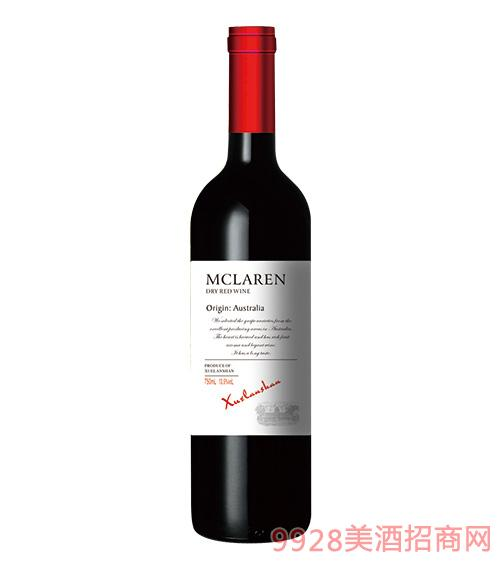 雪兰山智利干红葡萄酒12.5度750ml