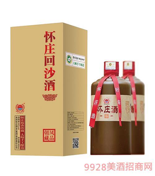 怀庄回沙酒53度500ml