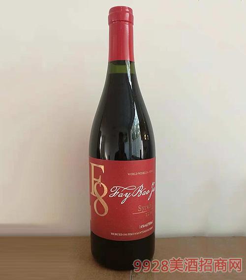 F8干红葡萄酒750ml