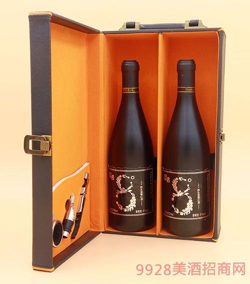 果遇蓝莓甜红葡萄酒(礼盒装)