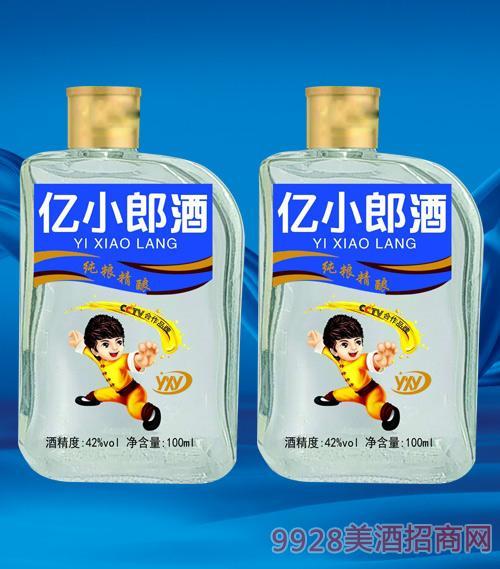 亿小郎酒(蓝)42度100ml