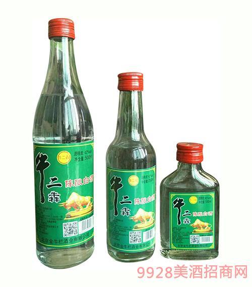 牛二犇陈酿白酒瓶装