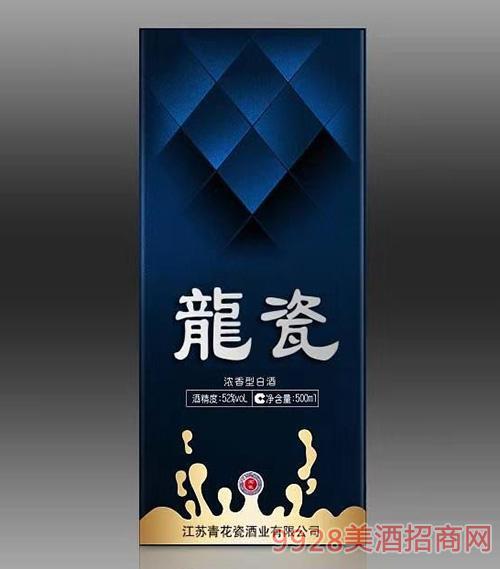 龙瓷酒52度500ml