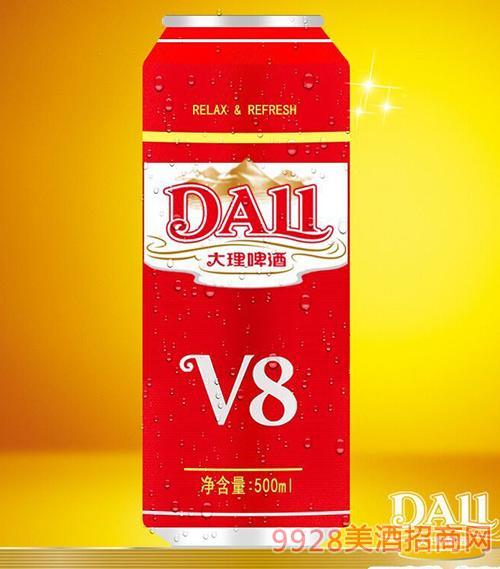 大理啤酒V8-500ml