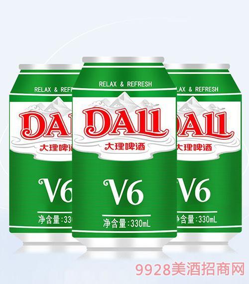 大理啤酒V6-330ml