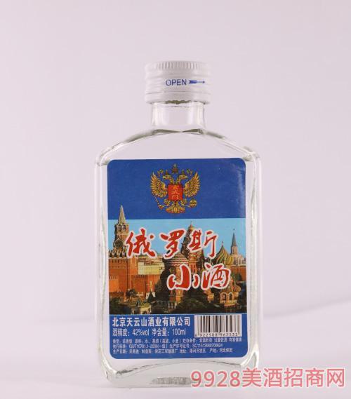 玄武门俄罗斯小酒42度100ml