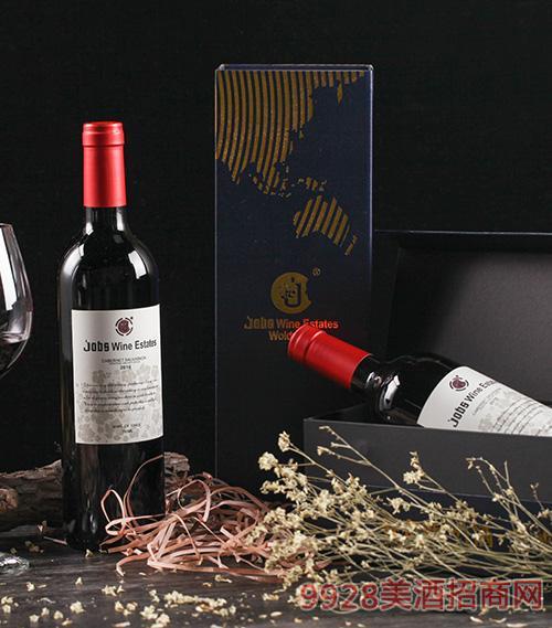 乔布斯莫莱谷干红葡萄酒