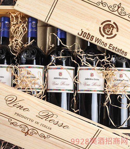 乔布斯黑珍珠干红葡萄酒