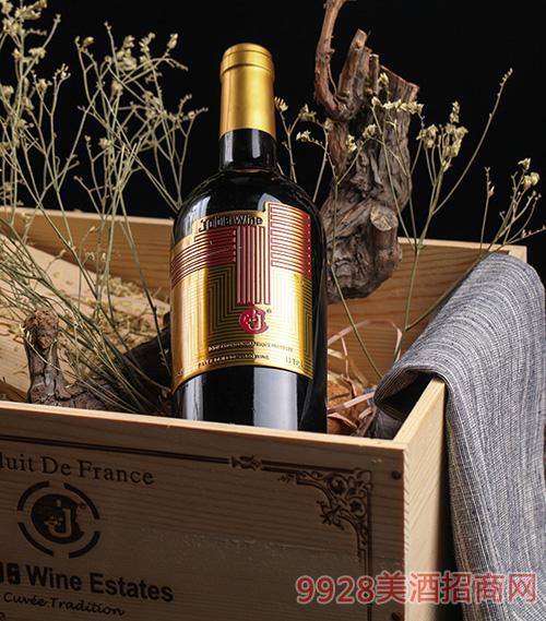 乔布斯特酿干红葡萄酒