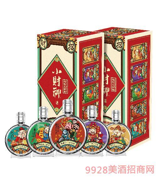 小财神财文化小酒箱装