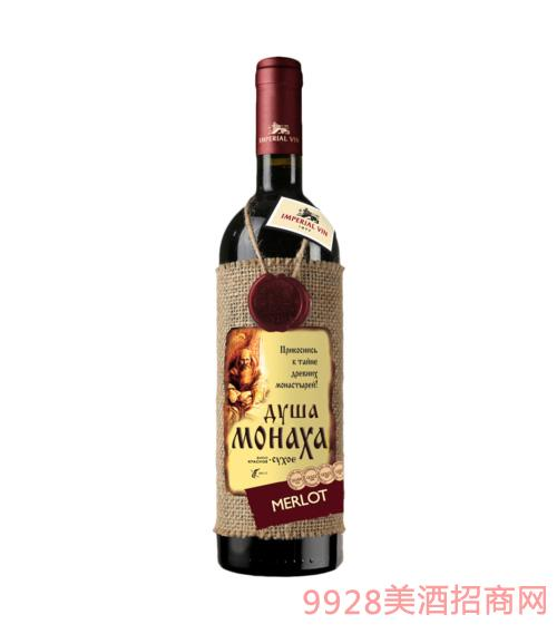 僧侣之心灵梅洛干红葡萄酒750ml