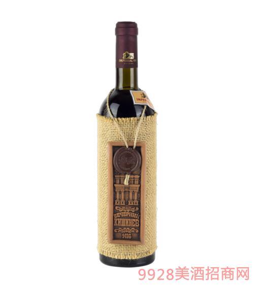 自然半甜红葡萄酒750ml