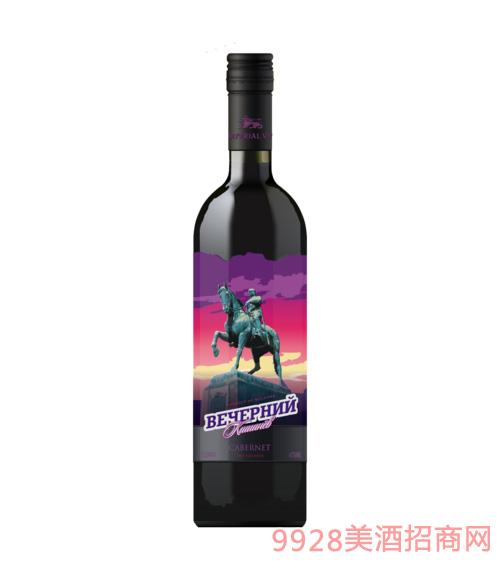 傍晚基希讷乌-赤霞珠干红葡萄酒750ml