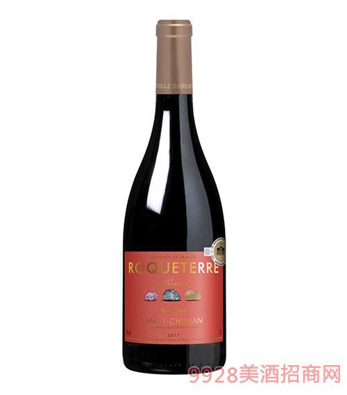 大地珍藏圣希尼昂红葡萄酒14度750ml