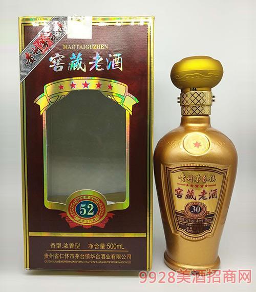 茅�_�窖藏老酒52度500ml