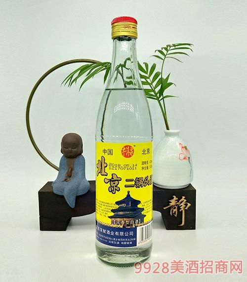 牛洱泉北京二锅头黄标42度500ml